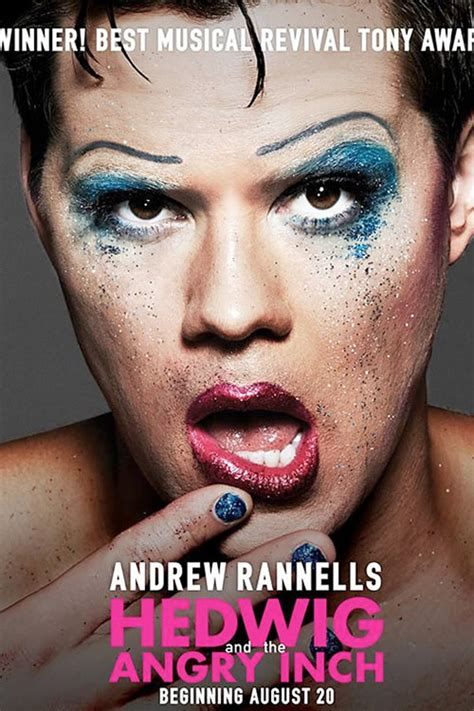 andrew and the angry inch hedwig darren criss hedwig and the angry inch promo poster