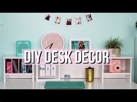 how to decorate your desk how to decorate your desk diy decor youtube