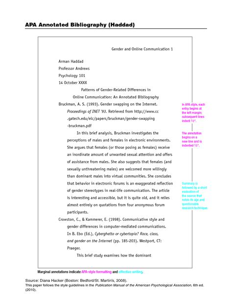 how to write a one page paper in apa format cover letter