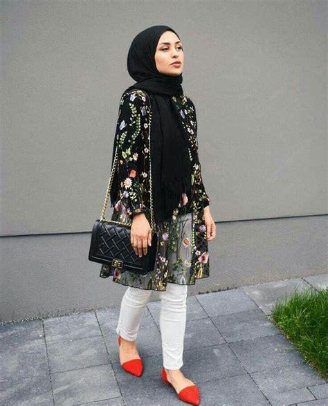 pin oleh itsnirmalasari  ilook hijab women gaya