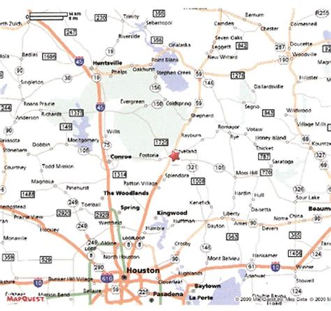 map of cleveland texas map to stancil park in cleveland texas