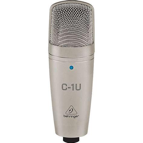 Behringer C1u Usb Condenser Microphone Behringer Behringer C1u Usb Studio Condenser Microphone