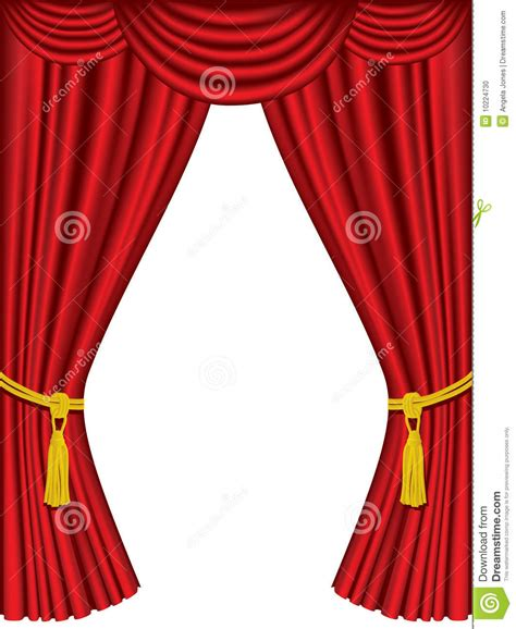 tende cinema theater curtains with drapes stock photo image 10224730