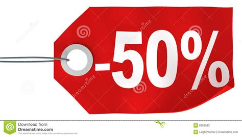 50% Off Tag Stock Photos   Image: 8383983