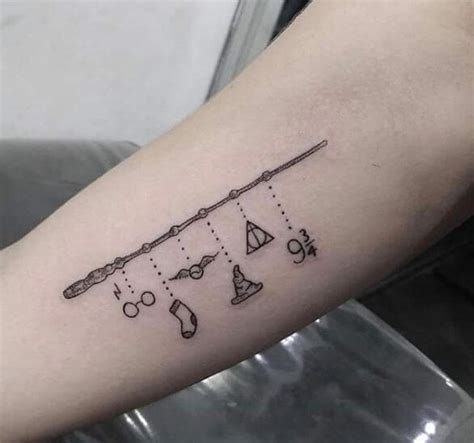 simple harry potter tattoos 50 unique harry potter tattoos ideas and designs 2017
