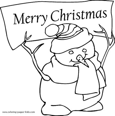 merry christmas 1 coloring pages
