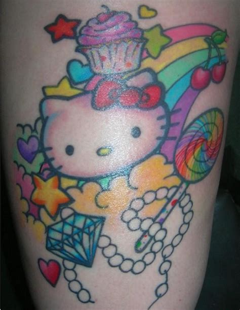 hello kitty tattoo ideas hello tattoos hawaii kawaii
