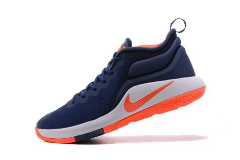 sell basketball shoes nike lebron zoom witness 2 navy blue orange white