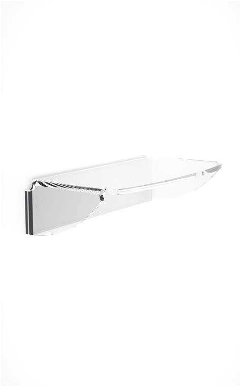 mensola trasparente mensola accessori bagno in plexiglass arte plexiglass