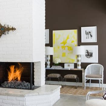 David White Fireplaces white brick fireplace design decor photos pictures ideas inspiration paint colors and