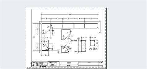 autocad for kitchen design autocad drafting and design kitchen sle