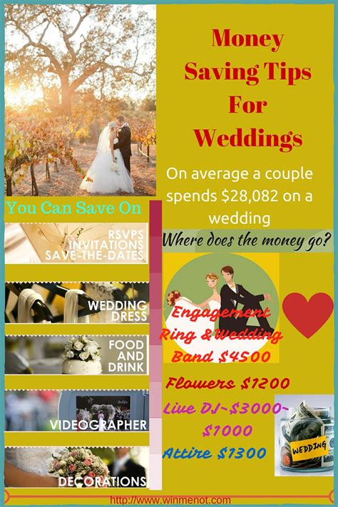 7 Money Saving Tips For Your Wedding by 11 Time And Money Saving Tips For Weddings That I Wish I