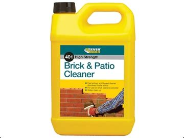 Doff Patio Cleaner by Everbuild Brick Patio Cleaner 5 Litre Lovediy