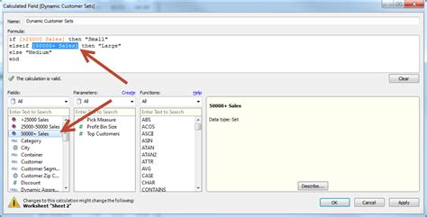 tableau tutorial calculated field can we use groups and sets in calculation field
