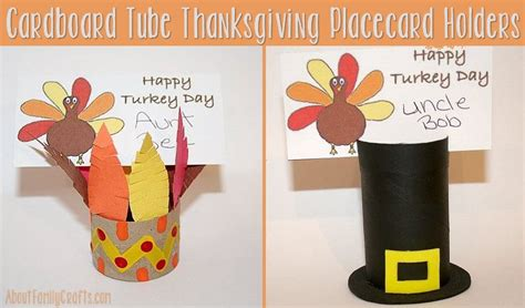 thanksgiving place card holder templates thanksgiving place card holders about family crafts