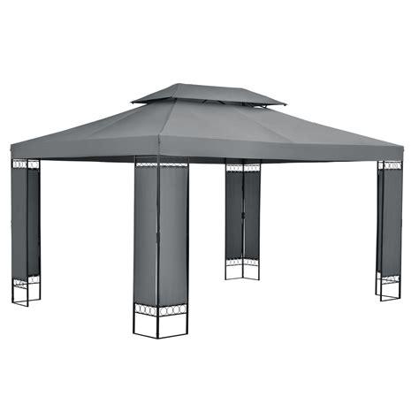 Pavillon Metall 3x4m Wasserdicht by Pavillion Gartenzelt Partyzelt Festzelt Gartenpavillion