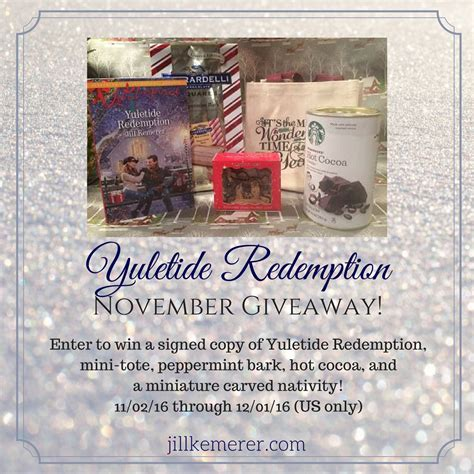 November Giveaway - home jill kemerer christian romance author