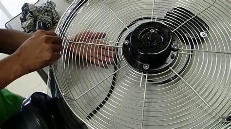 Kipas Tornado Wall Fan cara membuka dan membersihkan kipas angin regency tornado