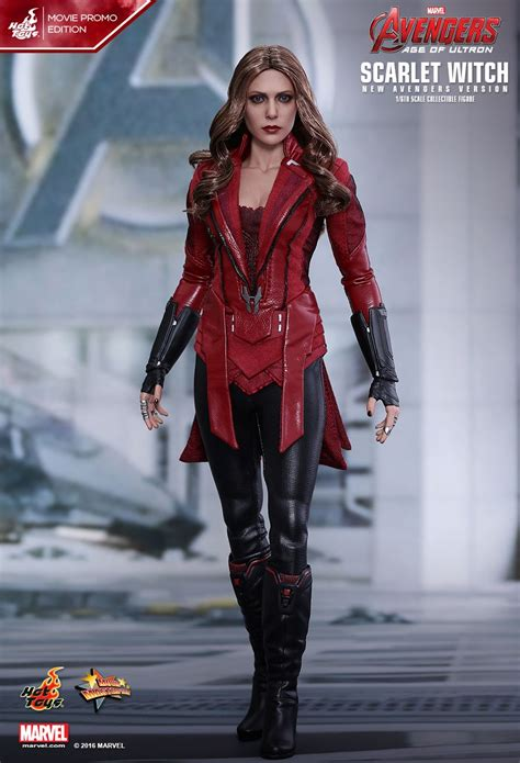Poster The Age Of Ultron Scarlet Witch Ukuran A3 toys age of ultron scarlet witch new version