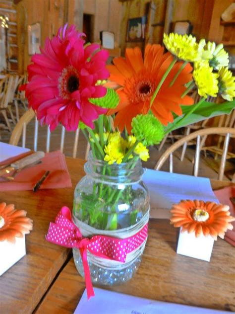 cheap and easy centerpieces easy cheap bright rustic centerpieces wedding cheap