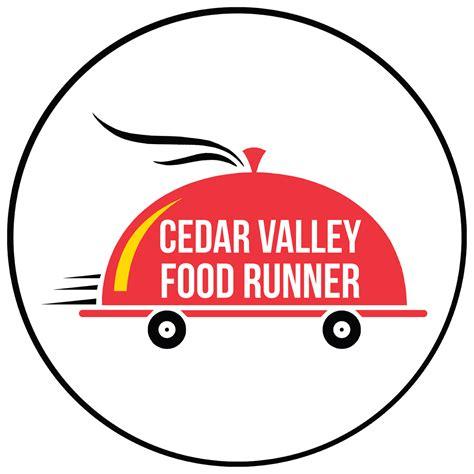 cedar valley food runner on behance