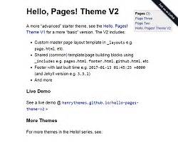 jekyll themes github pages all 224 free open source static website jekyll themes