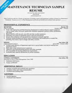 air conditioning technician resume sles resume exles resume and construction on