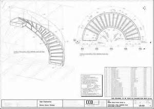 Curved staircase building plans