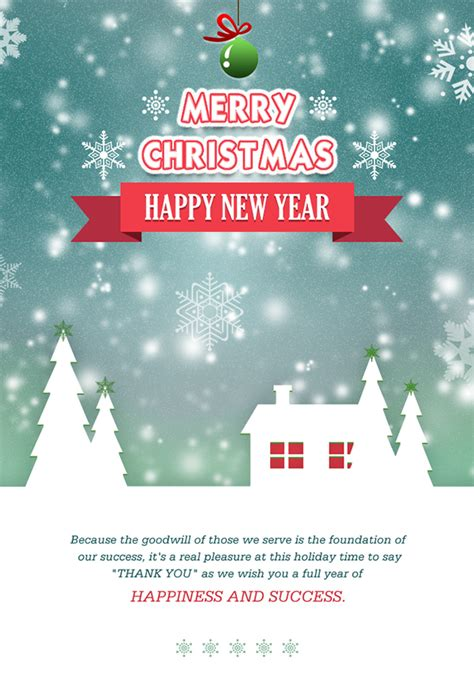 create merry christmas email template  send wishes   behance