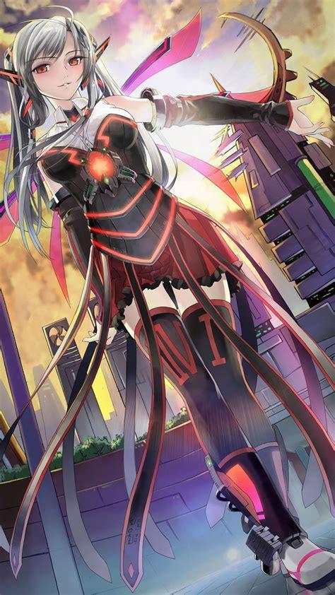 anime mobile futuristic anime soldier mobile wallpaper 7834