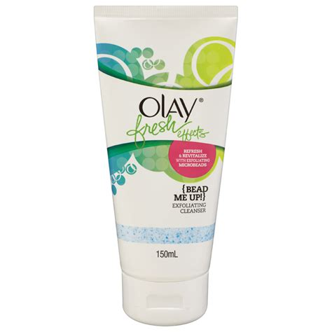 Olay Fresh Effect olay fresh effects bead me up exfoliating cleanser 150ml