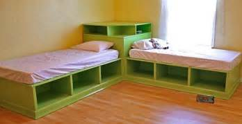Bed L L Shaped Beds Beautify Your Corner Home Improvement