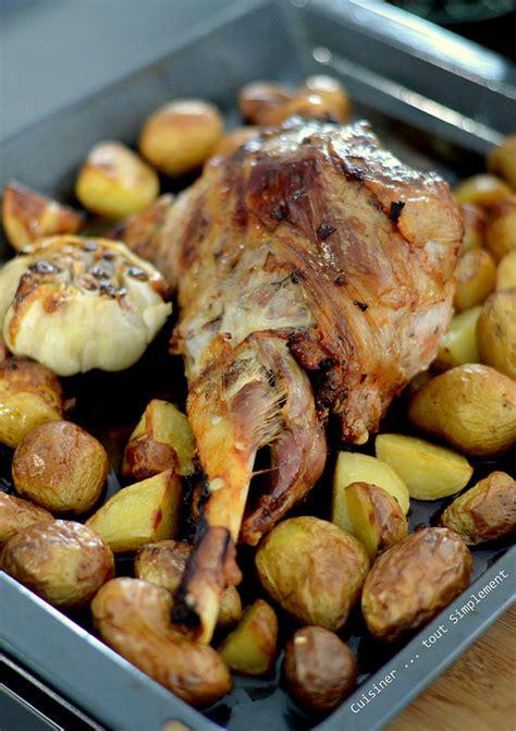 cuisiner 駱aule d agneau gigot d agneau au four cuisiner tout simplement le