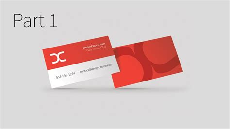 how to make business cards on illustrator modern business card design in illustrator cc part 1