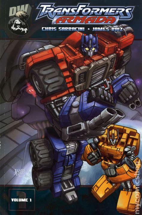 transformers armada transformers armada tpb 2003 2004 dreamwave comic books