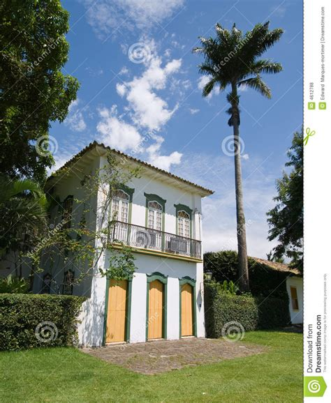 baroque house plans baroque house paraty brazil royalty free stock photos