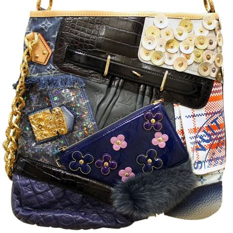 Louis Vuitton Patchwork Bag - louis vuitton limited edition patchwork tribute collector