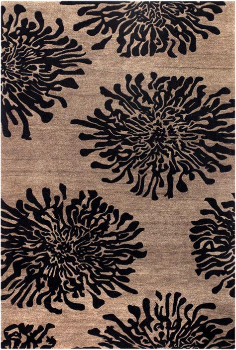 black accent rugs surya bombay bst 496 black area rug rugsale com
