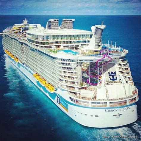 largest ship in the world harmony of the seas the world s largest cruise ship