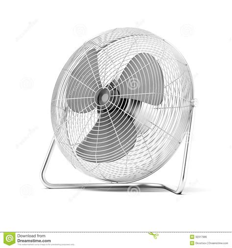 floor mounted powerful fan royalty free stock image