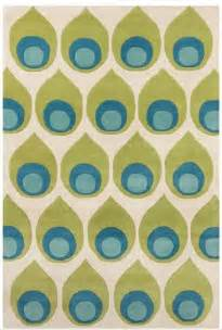 Midcentury Modern Rug Green Blue And Midcentury Modern Area Rug Furniture Modern Area