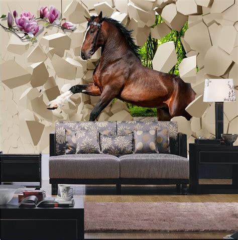 horse wallpaper for bedrooms 3d wallpaper bedroom mural modern seamless horses
