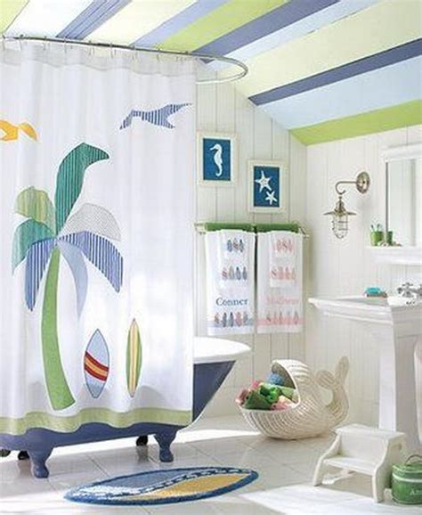 Beachy Curtains Designs Decorating Bathroom In Theme 2017 2018 Best Cars Reviews