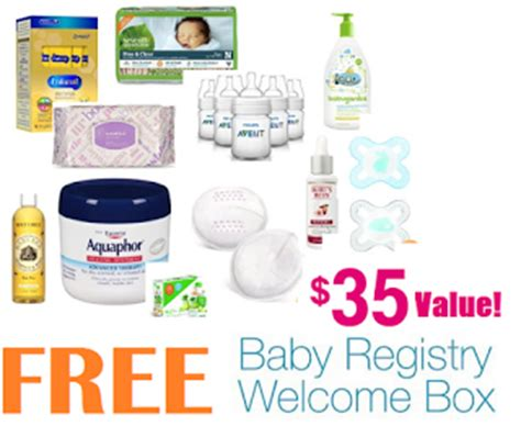 Amazon Baby Registry Sweepstakes 2017 - amazon free welcome box with baby registry