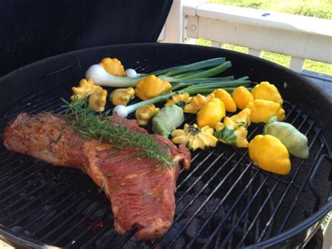 Supra Square Grill Rosemary Pan 30 Cm grilled tri tip w herbed patty pan squash the soffritto