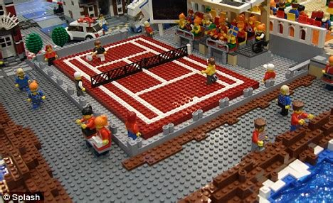 Football Court Lego on your marks get set lego welcome to the olympics where everyone s the blocks
