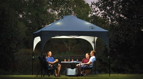 cvalley instant canopy with led lighting system colman canopy coleman instant canopy sunwall accessory