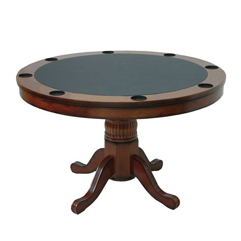 Round Table Pads For Dining Room Tables by Ram Game Room Round Poker Table Amp Reviews Wayfair