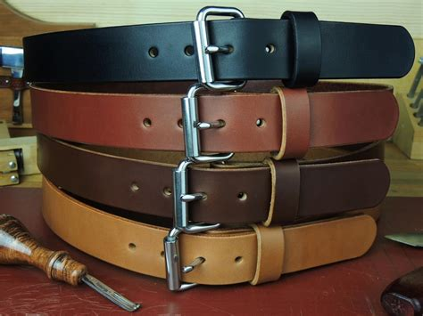 Handmade Leather Tool Belt - hc150 1 1 2 quot heavy duty leather work tool holster belt