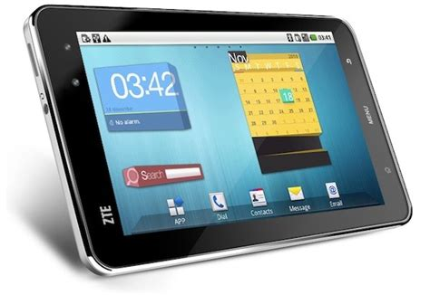 Tablet Zte zte announces 7 inch zte light android tablet